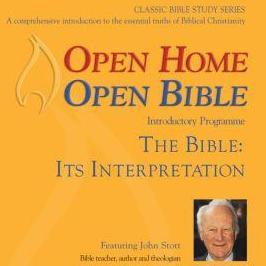 Open Home: Open Bible SPECIAL - Open Home Open Bible